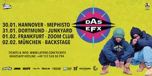 Das Efx Live in Frankfurt - 01.02. Zoom Club