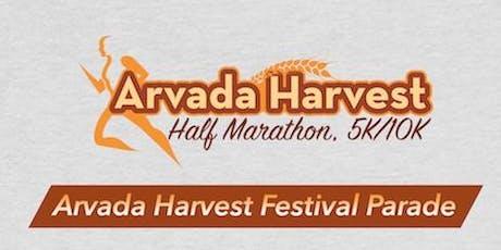 2019 Arvada Harvest Half Marathon/5K/10K/10M tickets