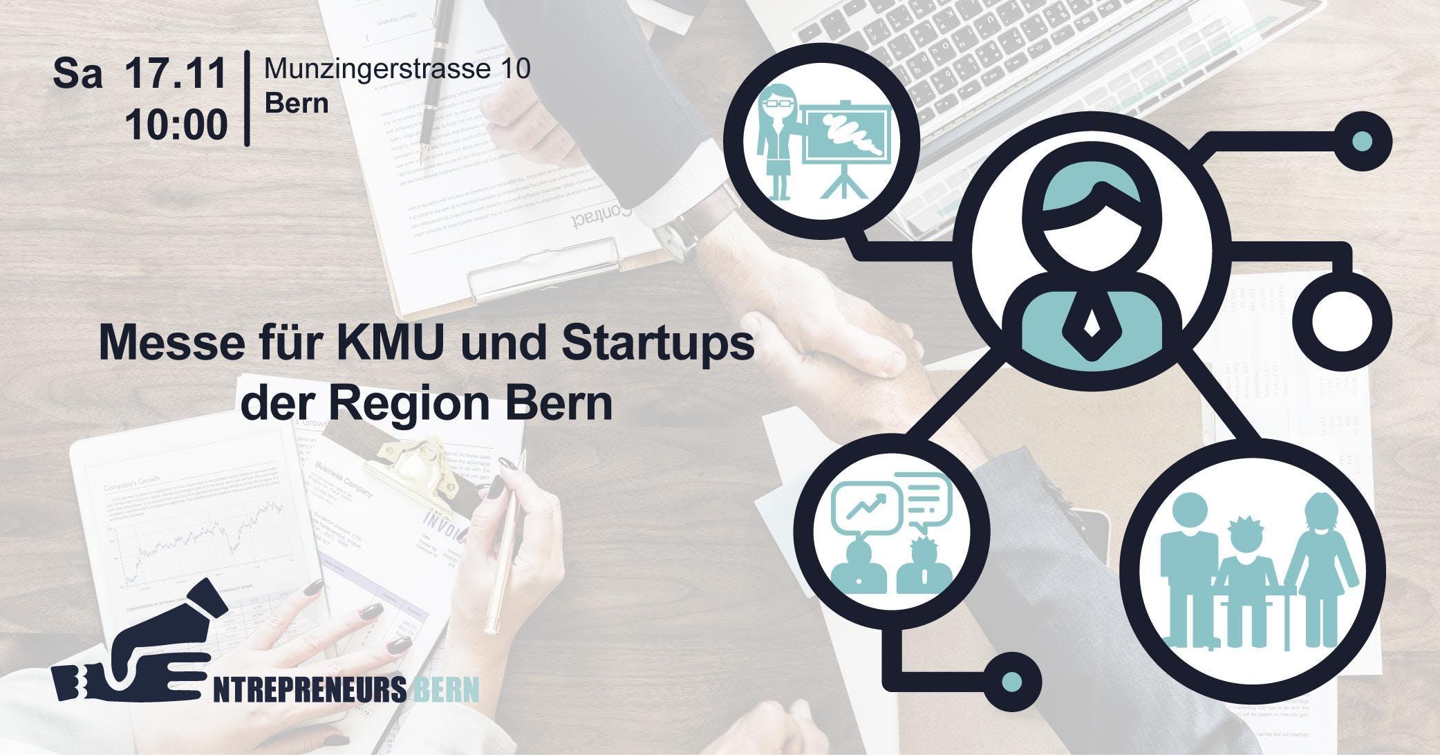 Kostenlose «Messe für KMU und Startups der Region Bern»