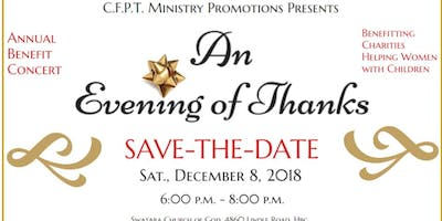 Save the Date - An Evening of Thanks