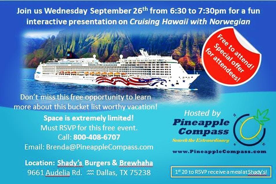Hawaiian Cruise Night
