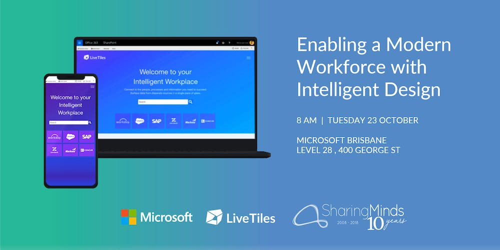 Office 365 Livetiles Enabling A Modern Workforce With Intelligent