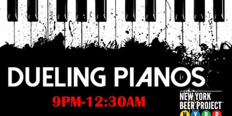 Dueling Pianos at NYBP tickets