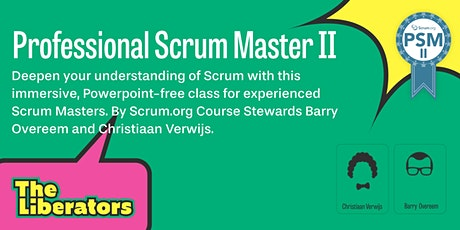 Professional Scrum Master II tickets