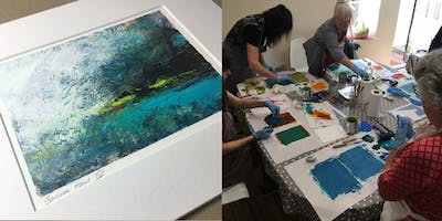 Intermediate Oil and Cold Wax Workshop