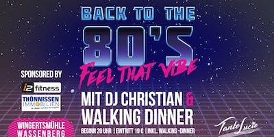 80er Jahre Party mit DJ Christian in Wassenberg!