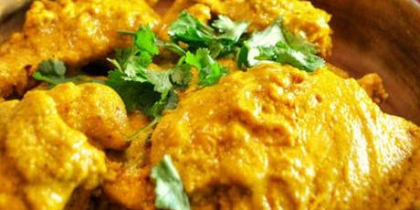 British-Style Indian Chicken Curry Cooking Class Party tickets