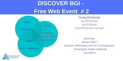 DISCOVER BGI - Web Event #2