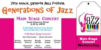 "Sarasota ""Generations of Jazz"" Festival - Wednesday Main Stage Concert"