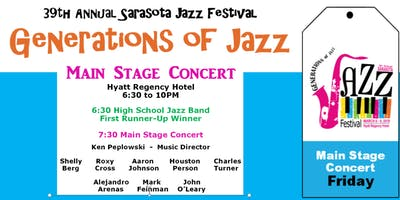 "Sarasota ""Generations of Jazz"" Festival - Friday Main Stage Concert"