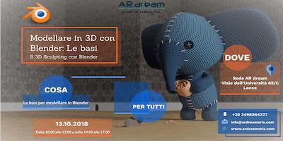 Modellare in 3D con Blender: Le basi