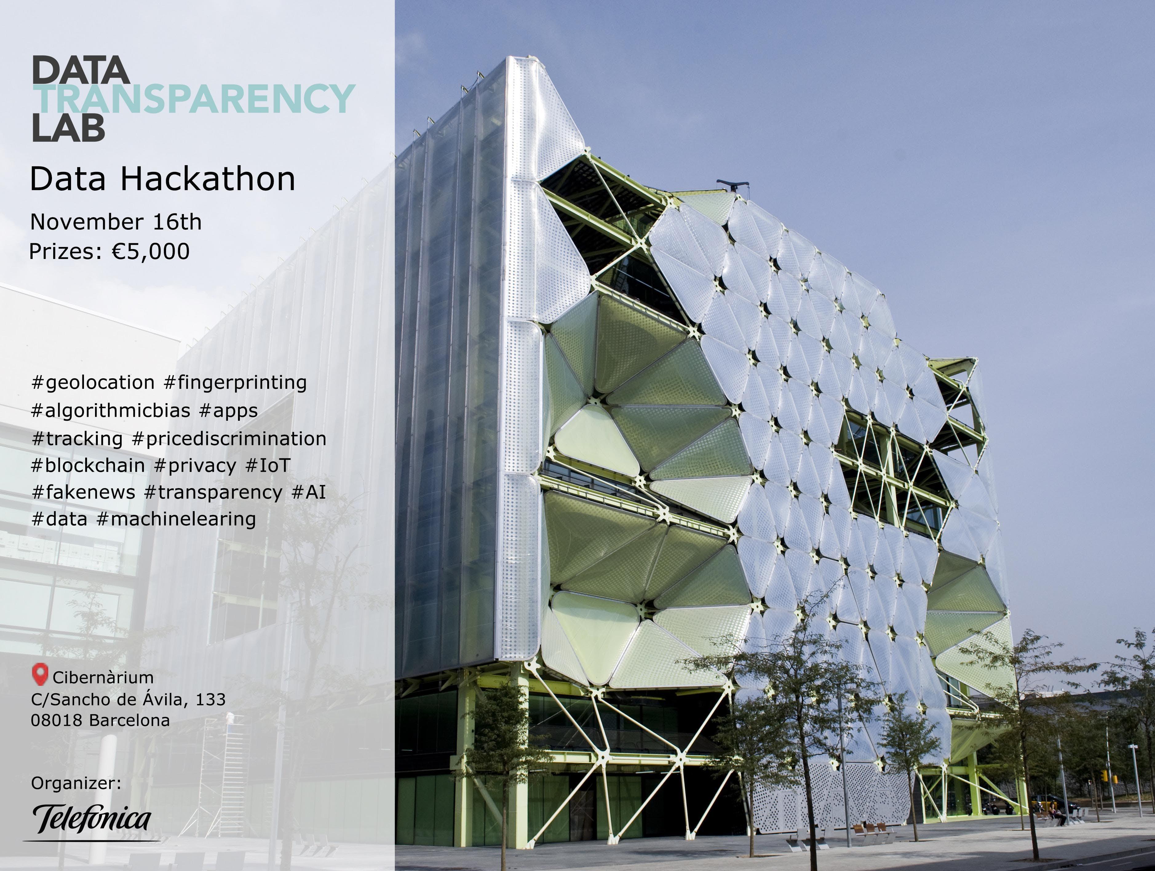 Hackathon - Data Transparency Lab 2018