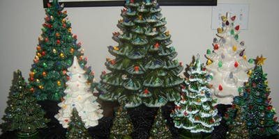 Ceramic Christmas Tree With Lights Paint Your Own Washington Court