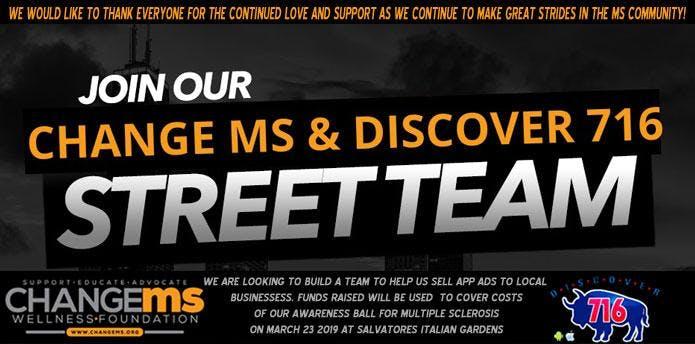 Change MS & Discover 716 App Street Team!
