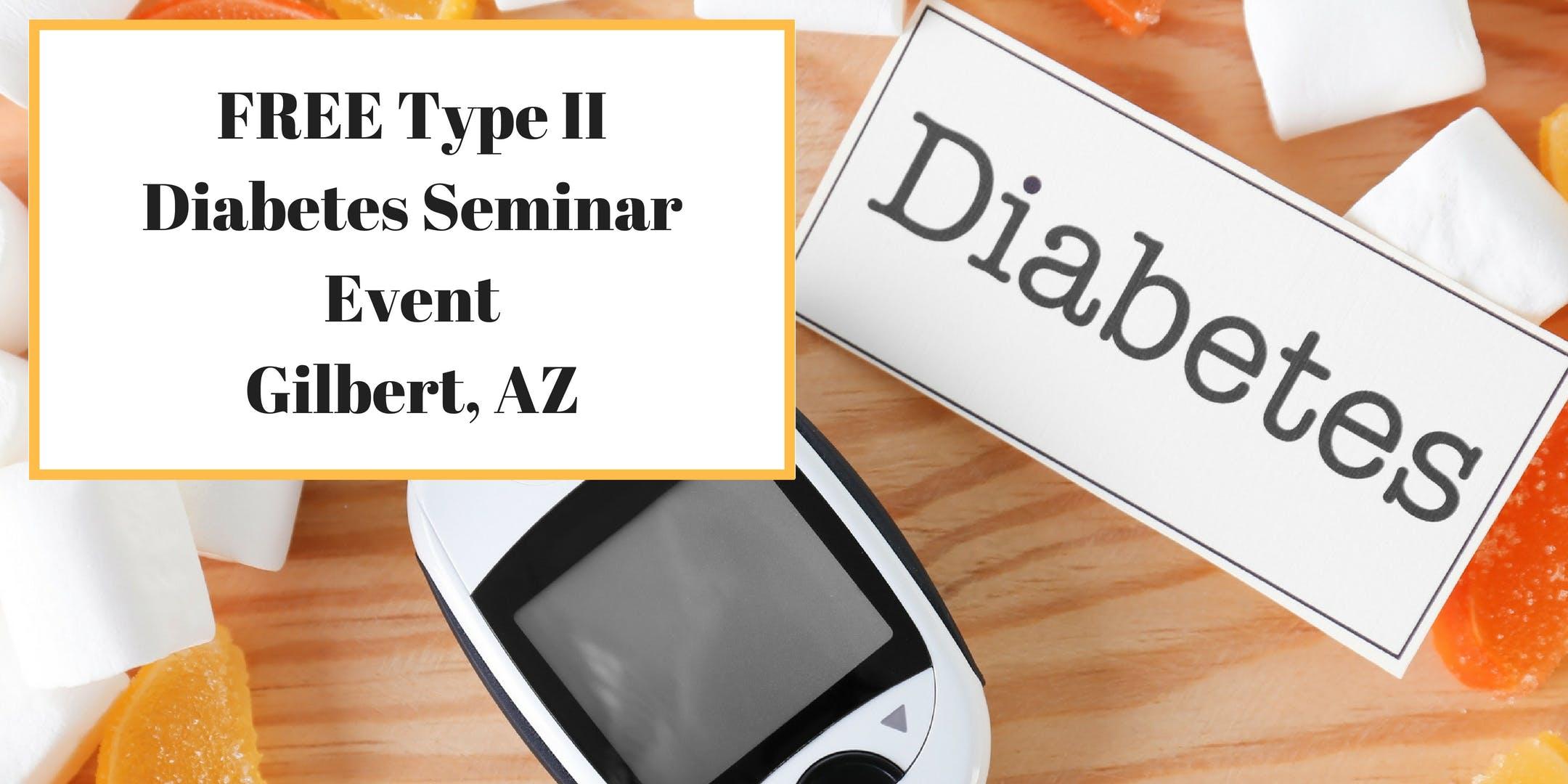 FREE Type II Diabetes Seminar Event -