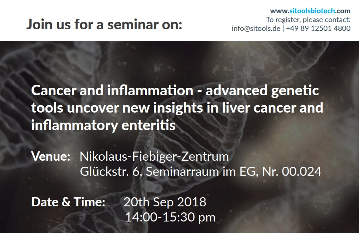 Cancer and inflammation - advanced genetic to