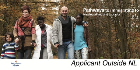 Applicant OUTSIDE NL-Pathways Immigrating to Newfoundland and Labrador (NL) biglietti