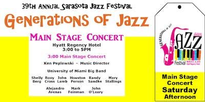 "Sarasota ""Generations of Jazz"" Festival - Sat. Afternoon Main Stage Concert"