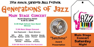 "Sarasota ""Generations of Jazz"" Festival - Sat. Evening Main Stage Concert"