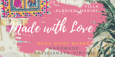 MADE WITH LOVE -Gipsy Market Circus Handmade