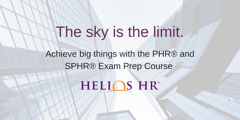 Phr Shrm Exam Prep Course By Helios Hr Tickets Tue Sep 11