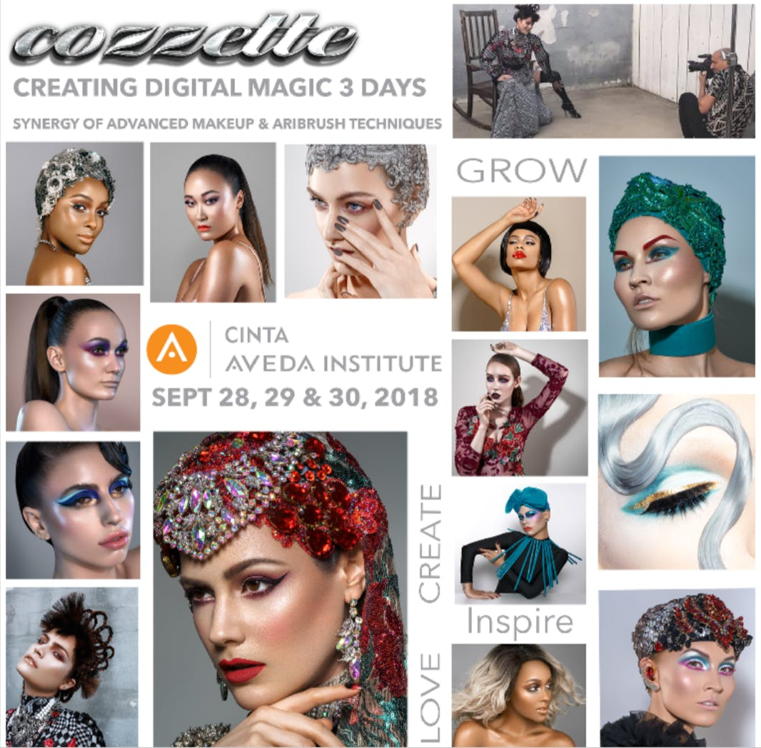 Advanced Makeup Artistry Class With Roque Cozzette At Cinta Aveda