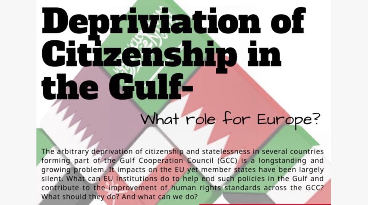 Deprivation of Citizenship  & Statelessness i