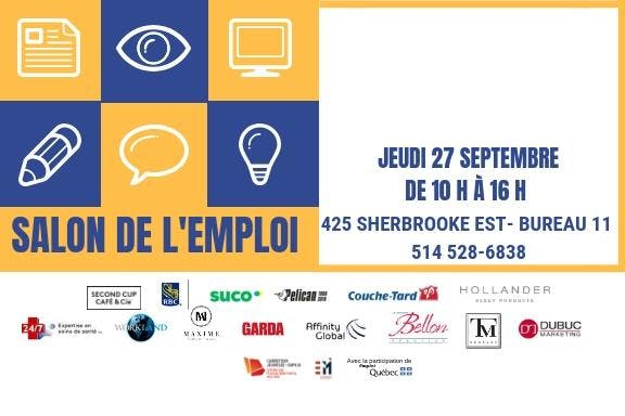 Salon de l'emploi CJE/CODEM
