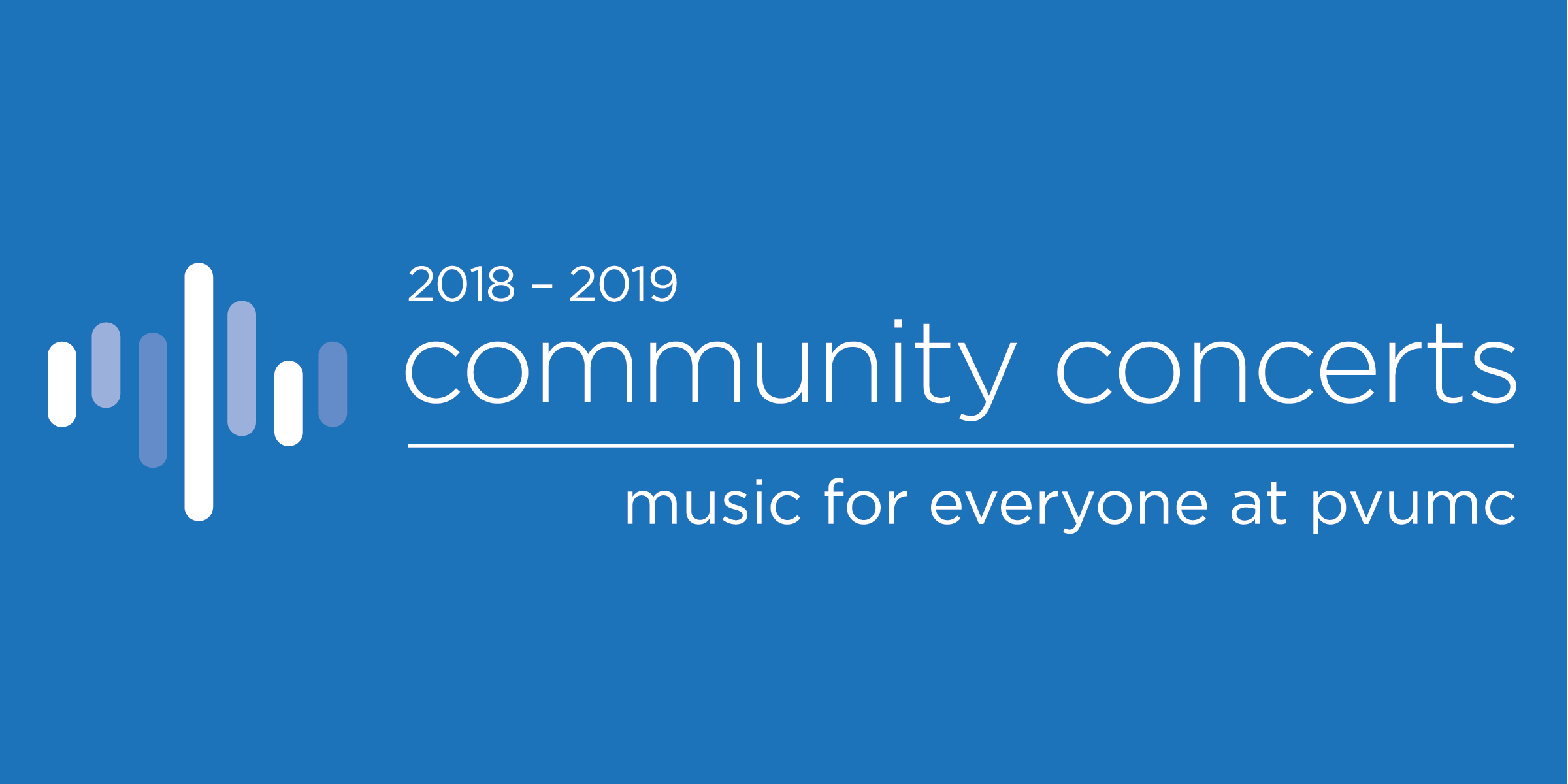 2018-2019 Community Concerts: Music for Everyone at PVUMC
