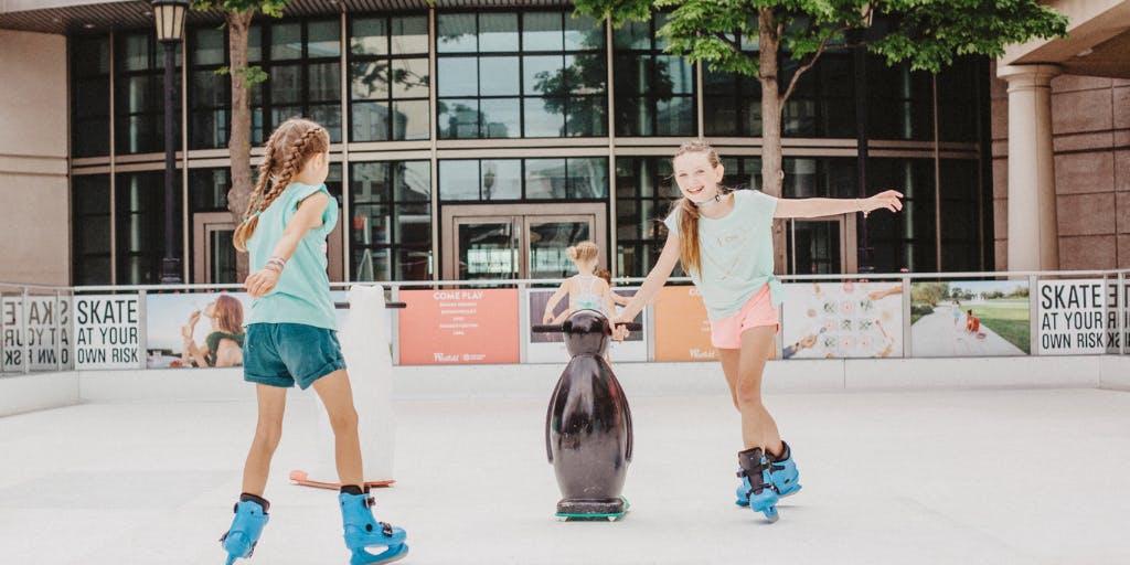 Family Fun Day! All-Season Ice Skating at Indoor Ice Rinks!