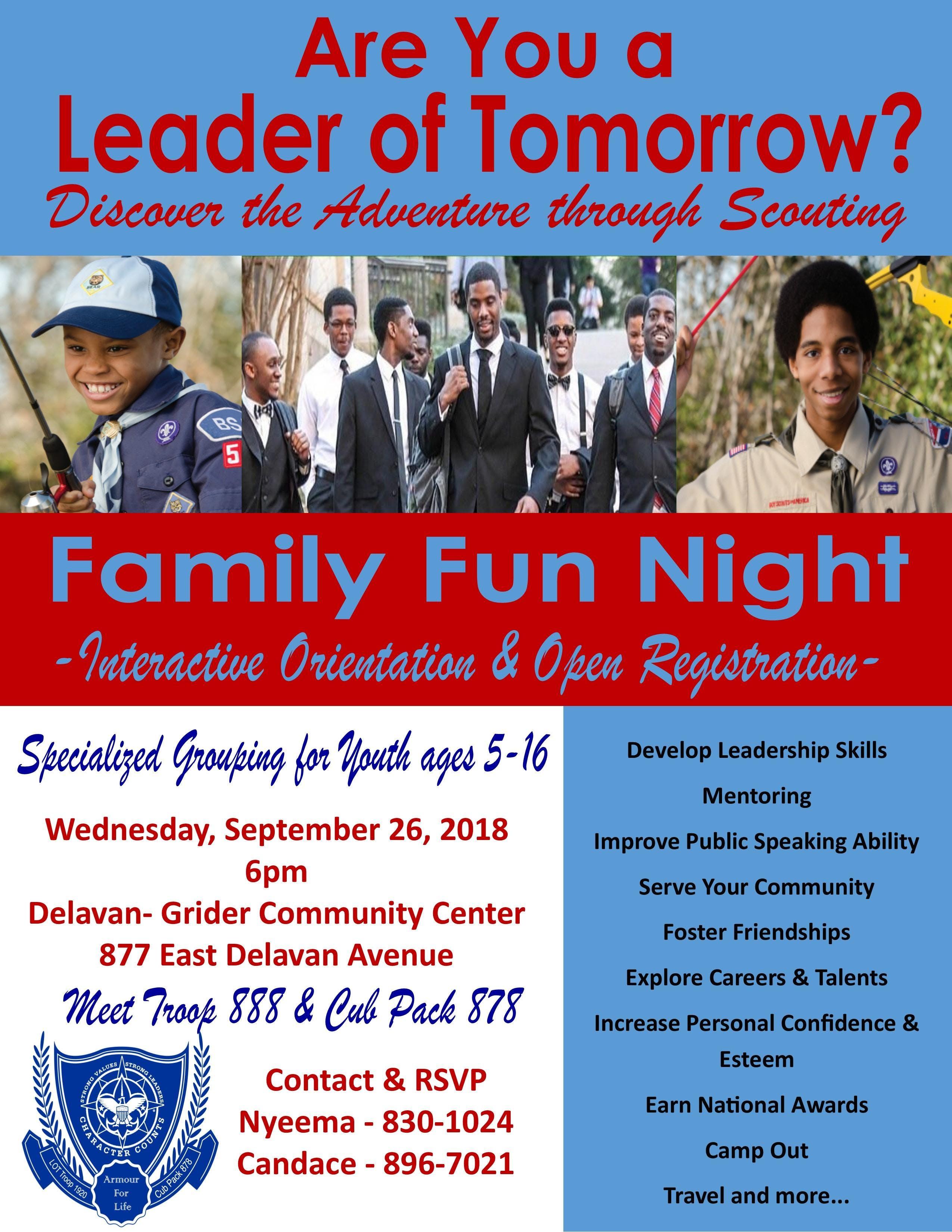 Leaders of Tomorrow Mentoring & Scouting Prog