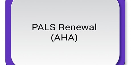 AHA PALS Renewal $120 (1/2 down/ 1/2 at class) tickets