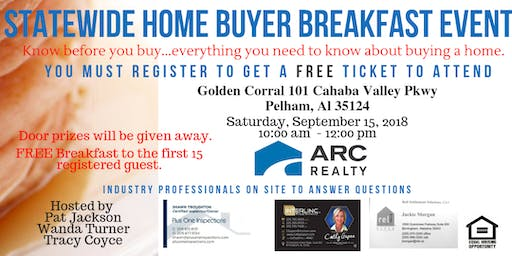 Statewide Home Buyer Breakfast Event!