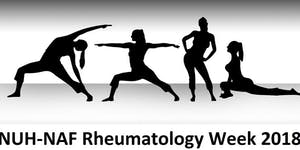NUH-NAF Rheumatology Week 2018 - Yoga/Pilates/Zumba...