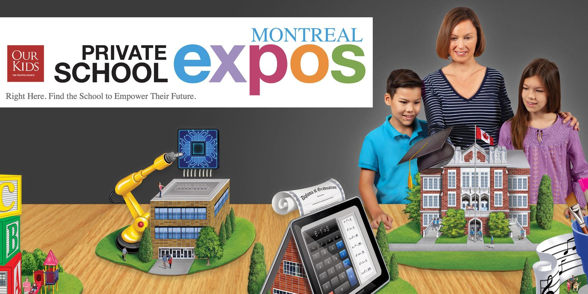OUR KIDS Montreal Private School Expo & Information Day
