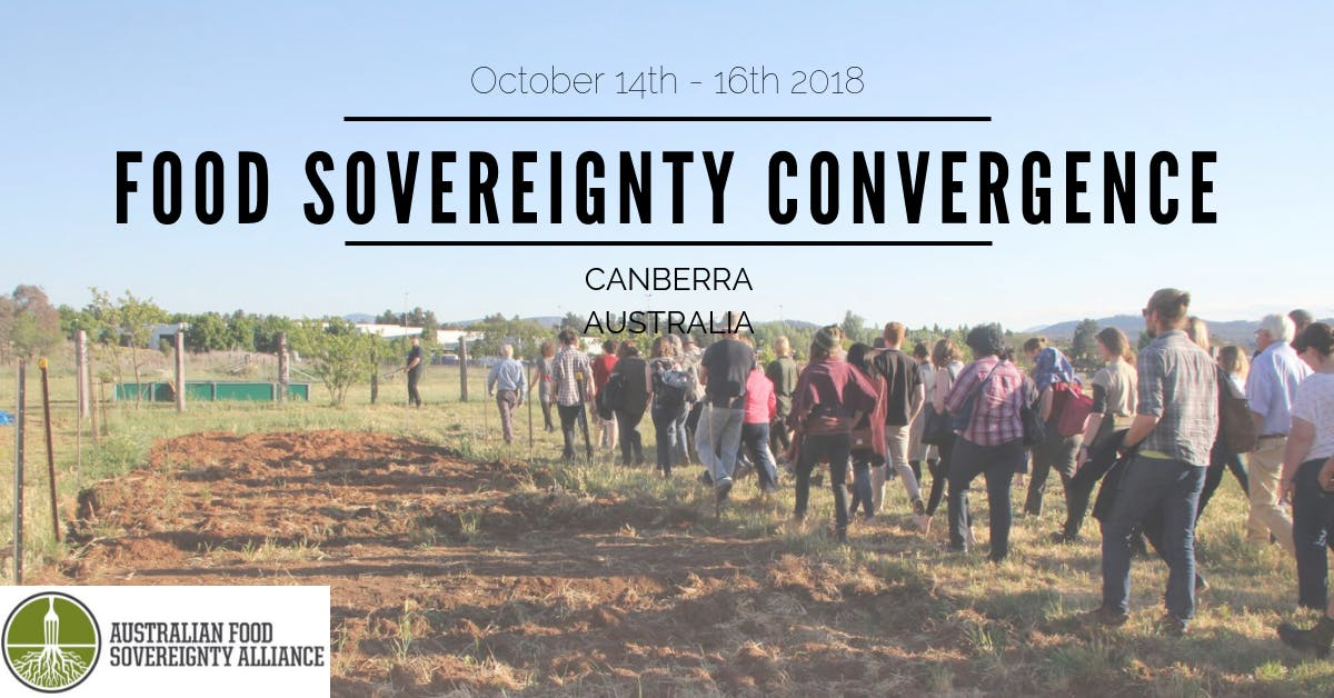 2018 Food Sovereignty Convergence