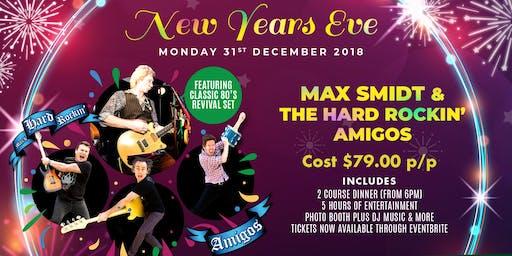 Sydney australia music events eventbrite new years eve 18 with max smidt the hard rockin amigos malvernweather Choice Image