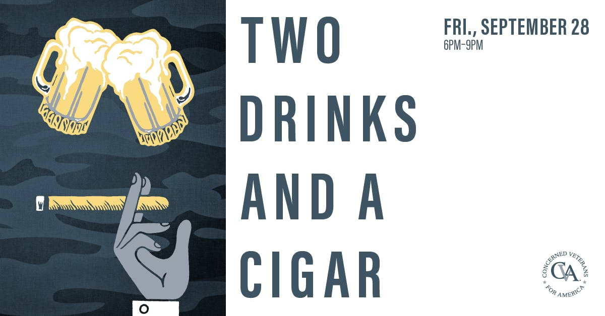 Two Drinks and a Cigar ~ Scottsdale