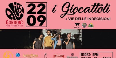 i Giocattoli live at The Alibi (Foggia)
