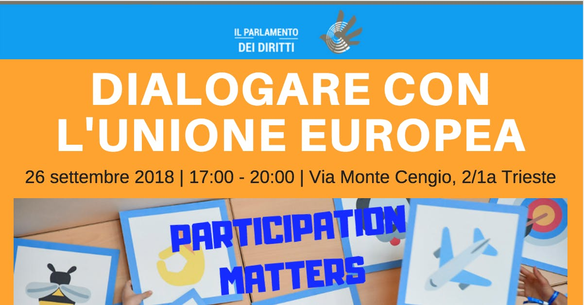 Workshop: Dialogare con l'Unione europea