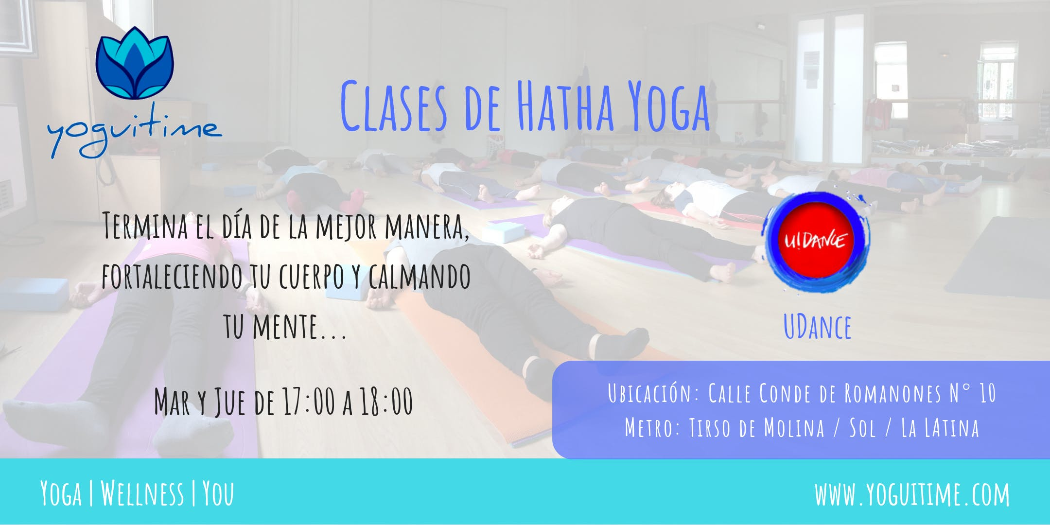 Hatha Yoga en Tirso de Molina