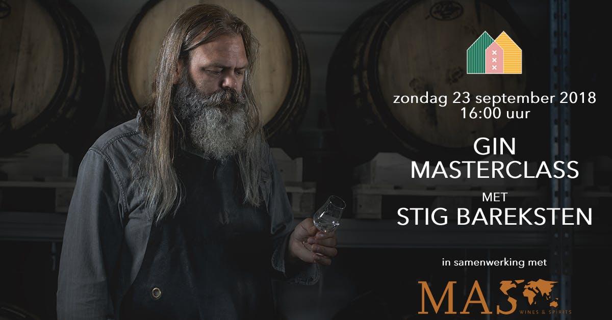 Gin Masterclass met Stig Bareksten