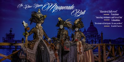 Venetian Glass Slippers Masquerade Ball 2019 (Venice Carnival 2019)
