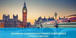 London: Women in Quantitative Finance Conference (WQF)