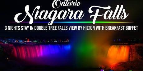 NIAGARA  FALLS, ONTARIO 4-day Bus Tour from Baltimore tickets