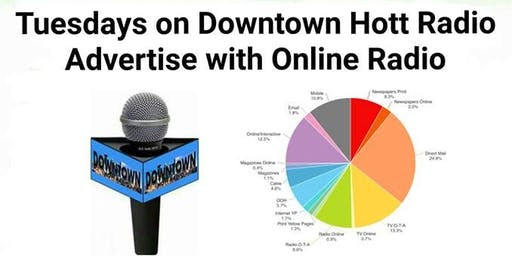 Tuesdays on Downtown Hott Radio
