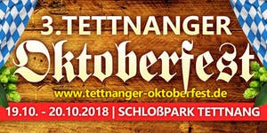 3. Tettnanger Oktoberfest - Samstag, 20.10.2018