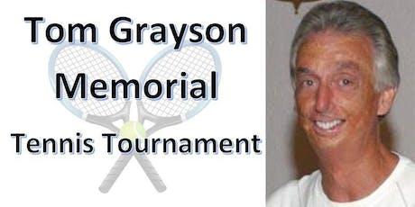 2019 Tom Grayson Memorial Tennis Tournament tickets