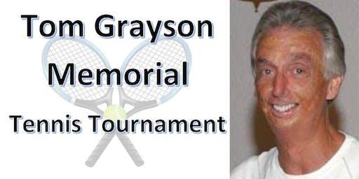 2019 Tom Grayson Memorial Tennis Tournament