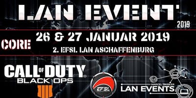 EFSL Call of Duty Bo4 Core Event by Marcel Trissler LAN Events